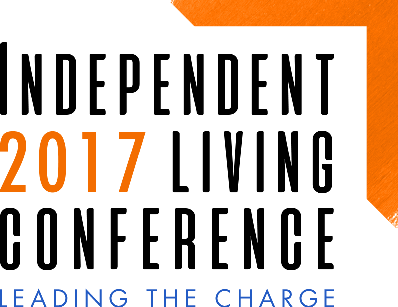 Graphic of 2017 Independent Living Conference: Leading the Charge.