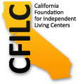 Logo of California Foundation for Independent Living Centers (CFILC).