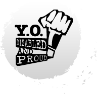 Logo of Youth Organizing! Disabled and Proud